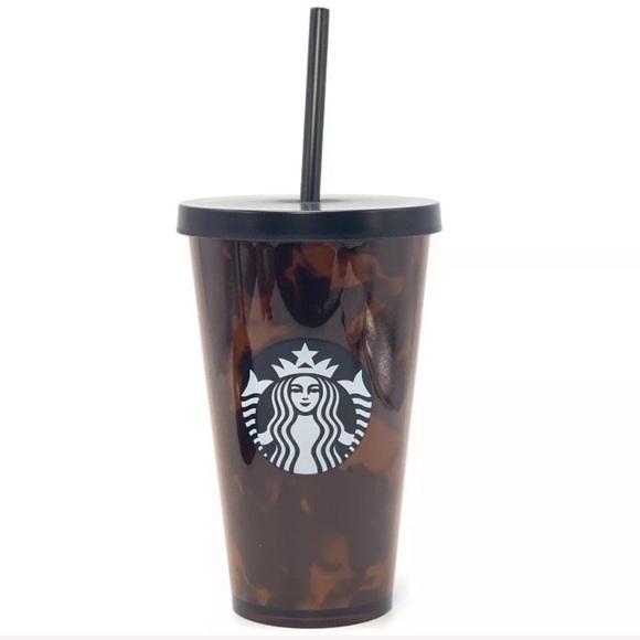 e7de64f98c9 Starbucks Other | Sale Tortoise Tumbler Cold Cup | Poshmark